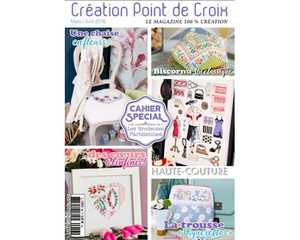 [Book] Magazine Création Point de Croix no.56